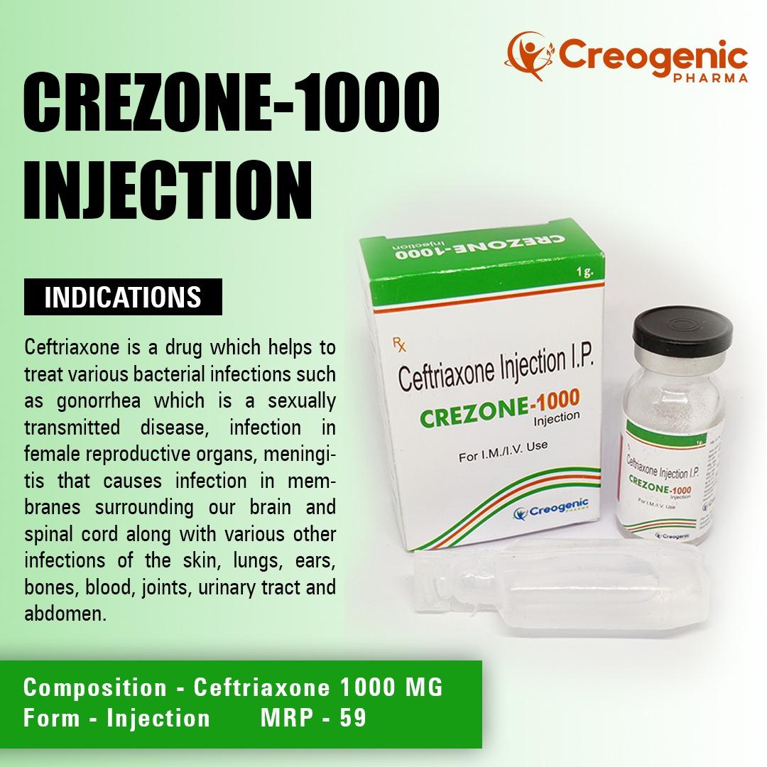 Ceftriaxone 1000 MG