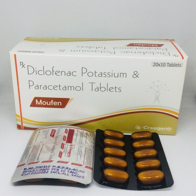 Diclofenac Potassium 50 MG + Paracetamol 325 MG