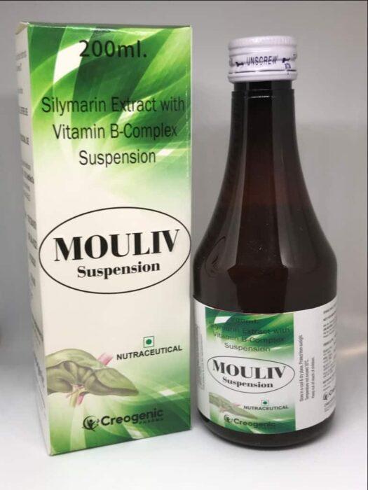Silymarin + Vitamin B Complex + Multivitamins