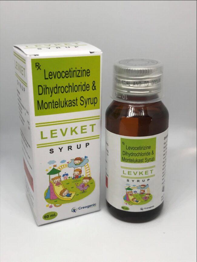 Levocetirizine 2.5 MG + Montelukast 4 MG