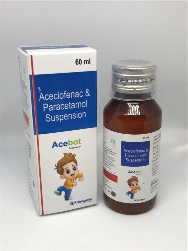Aceclofenac 50 MG + Paracetamol 125 MG