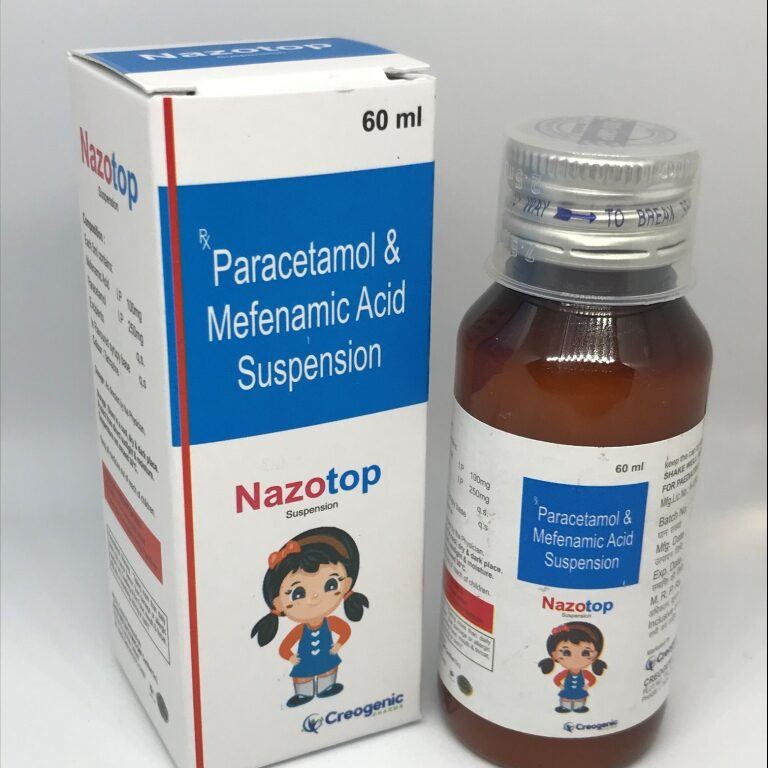 Mefenamic 100 MG + Paracetamol 250 Mg