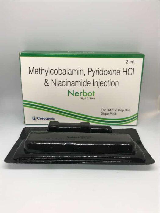 Methylcobalamin 1500 MCG + Pyridoxine HCL 100 MG + Nicotinamide 100 MG