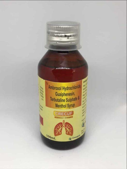 Ambroxol 15 MG + Terbutaline 1.25 MG + Guaiphenesin 50 MG + Menthol 2.5 MG