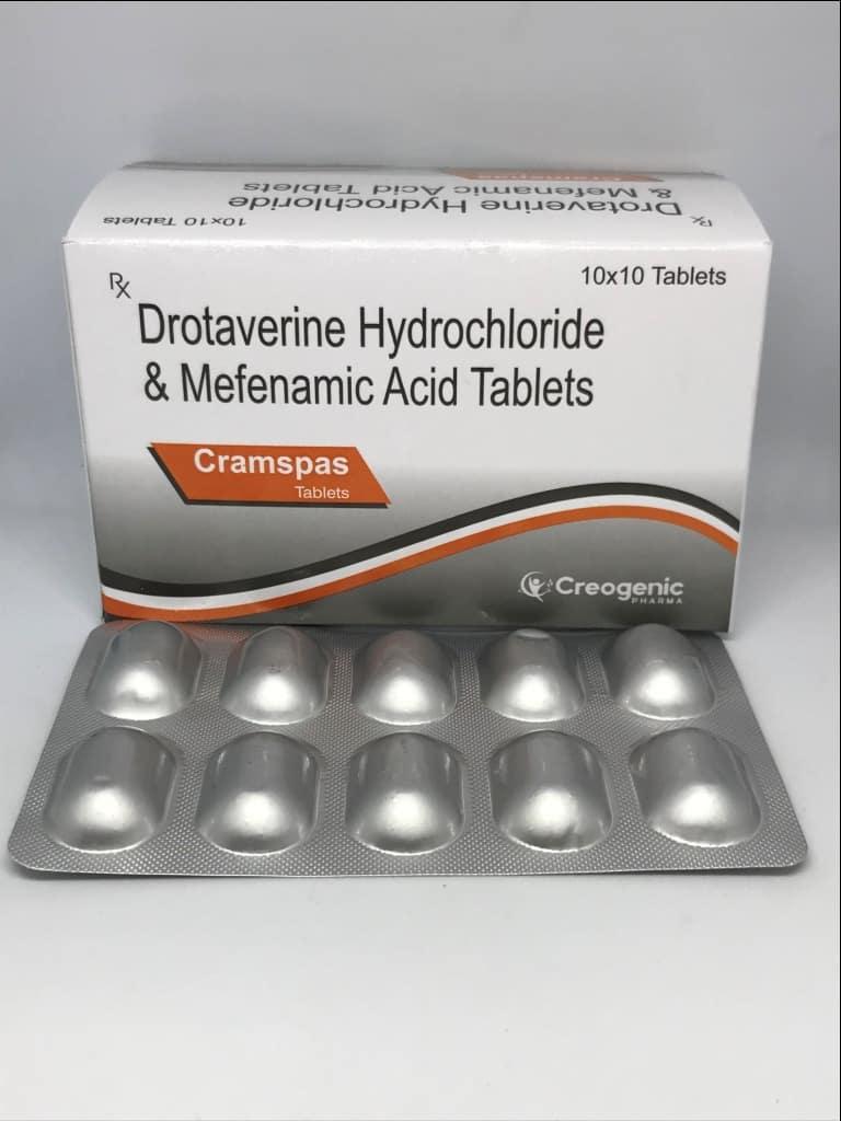 Drotaverine 80 MG + Mefenamic Acid 250 MG