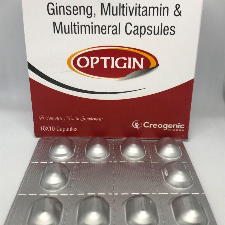 Ginseng 42.5 MG + Multiminerals + Multivitamins