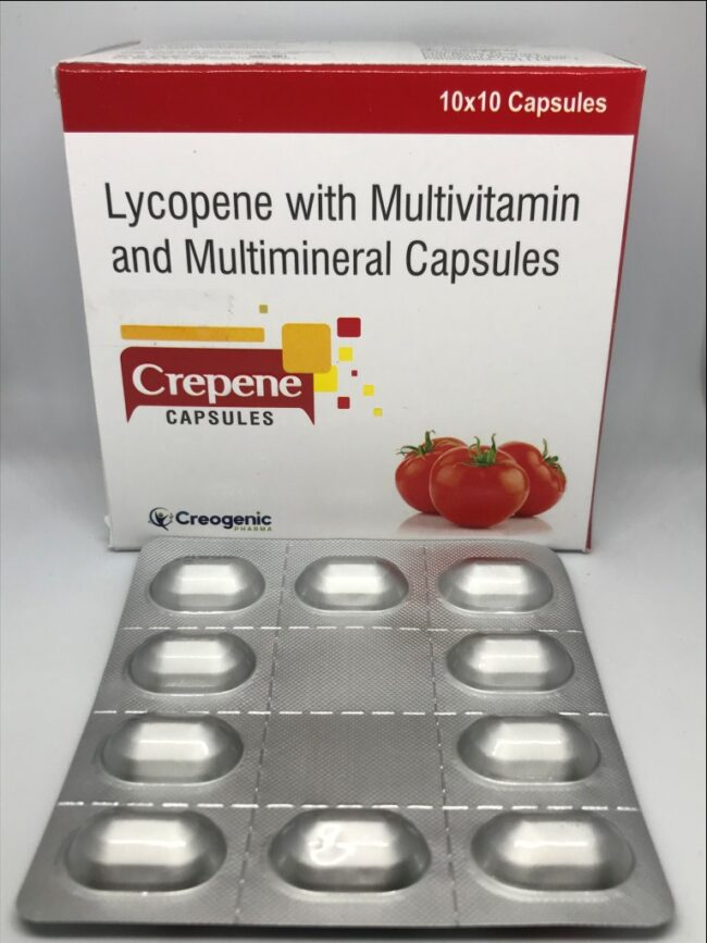 Lycopene Multivitamin and Multimineral Capsules