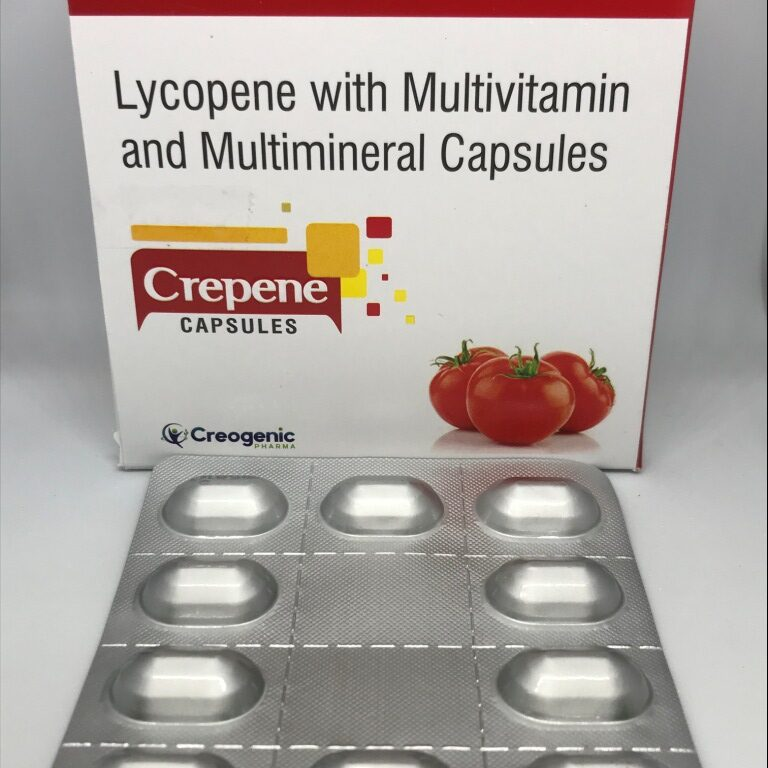 Lycopene + Grape Seed + Multiminerals + Multivitamins