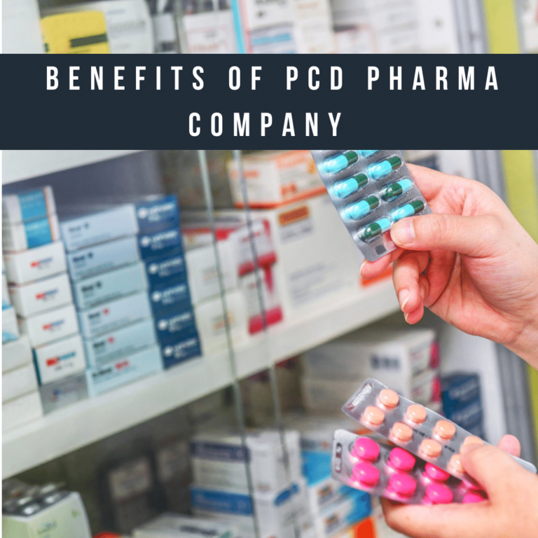 Benefits of PCD Pharma Company
